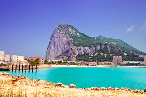 Visit Gibraltar with car rental and driver