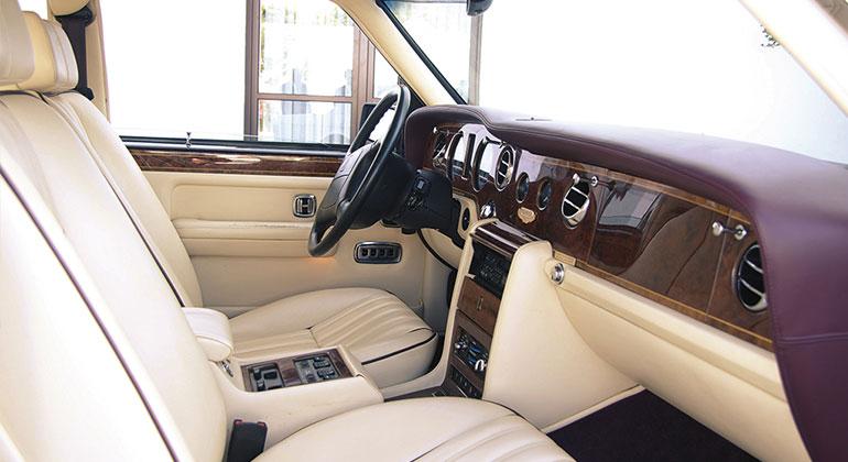 coche para bodas roll royce